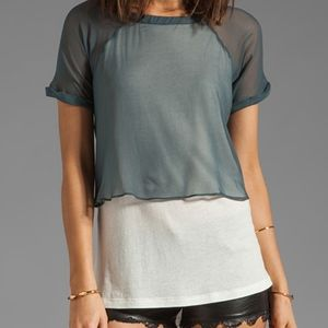 Elizabeth and James Amina T double layer top